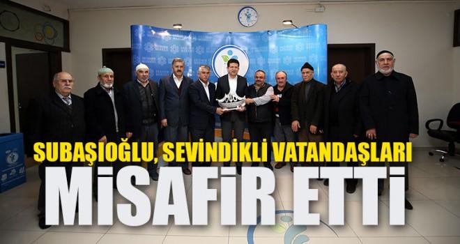 Başkan Subaşıoğlu, Sevindikli Vatandaşları Misafir Etti