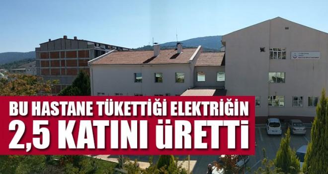 Bu Hastane Tükettiği Elektriğin 2,5 Katını Üretti