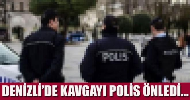 Kavga büyümeden polis müdahale etti