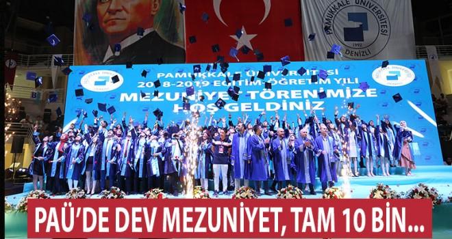 Denizli'de dev mezuniyet!