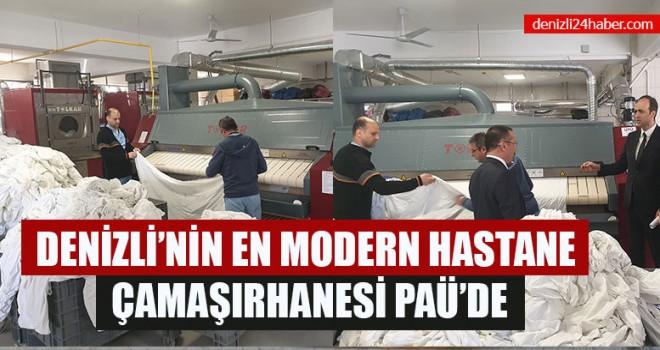 Denizli'nin En Modern Hastane Çamaşırhanesi Paü'de