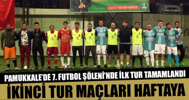 Pamukkale'de 7. Futbol şöleni'nde ilk tur tamamlandı
