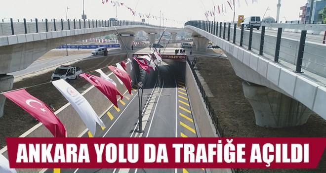 Ankara Yolu Da Trafiğe Açıldı