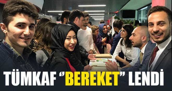 TÜMKAF ''Bereket'' lendi