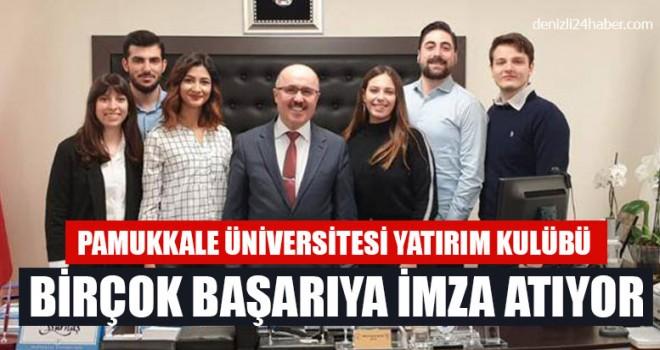Pamukkale Üniversitesi Yatırım Kulübü Birçok Başarıya İmza Atıyor