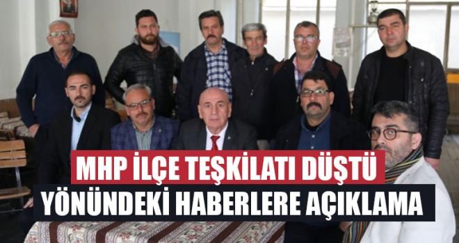 Sarayköy MHP İlçe Teşkilatı Düştü Yönündeki Haberlere Açıklama
