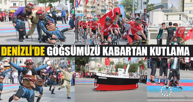 Denizli'de Göğsümüzü Kabartan Kutlama