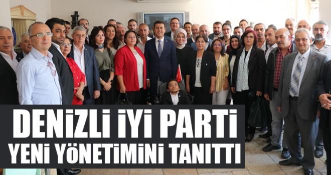 Denizli İYİ Parti Yeni Yönetimini Tanıttı