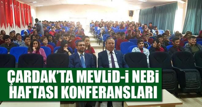 Çardak'ta Mevlid-İ Nebi Haftası Konferansları