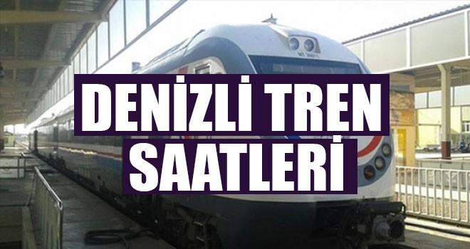 Denizli Tren Saatleri - Denizli  İzmir Tren Saatleri