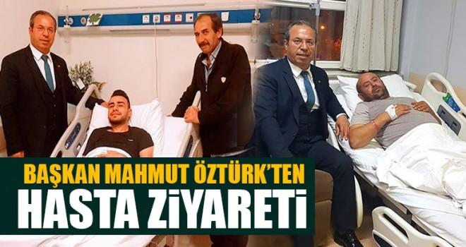 Başkan Mahmut Öztürk'ten Hasta Ziyareti