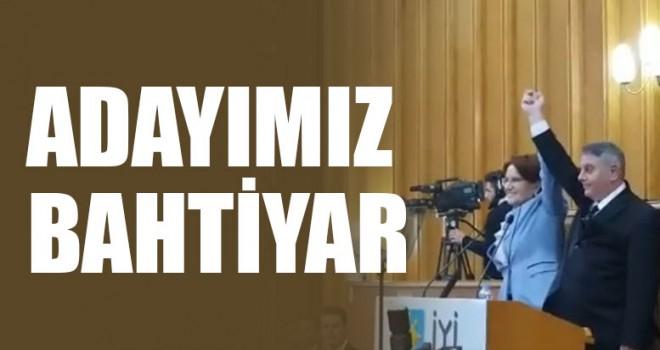 Akşener, Bahtiyar'ı açıkladı