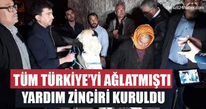 Tüm Türkiye'yi Ağlatmıştı Yardım Zinciri Kuruldu