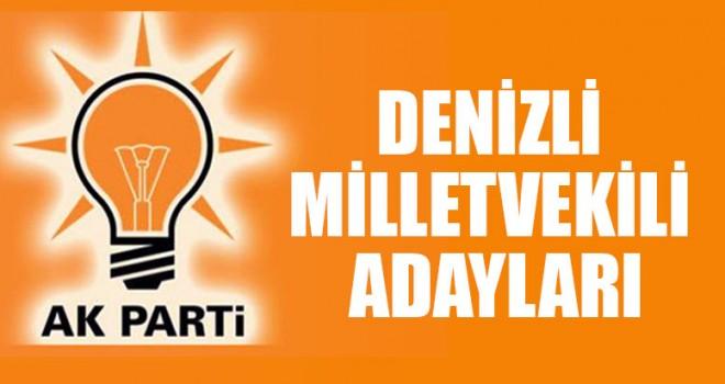 Ak Parti Denizli Milletvekili Adayları