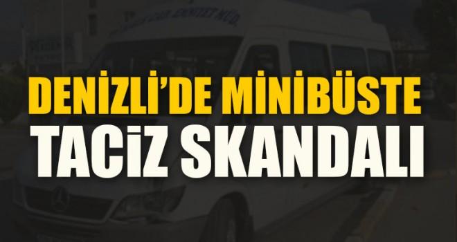 Denizli'de Minibüste Taciz Skandalı