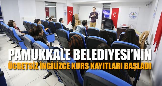Pamukkale Belediyesi'nin Ücretsiz İngilizce Kurs Kayıtları Başladı