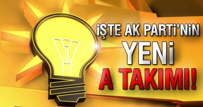 AK Parti'nin yeni MKYK'sı belli oldu Zeybekci Listede Yer Almadı