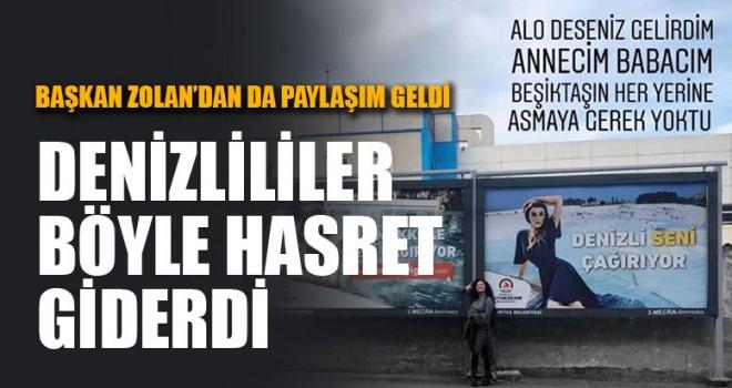 İstanbul'daki Denizlililer Böyle Hasret Giderdi