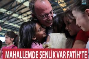 PAMUKKALE'DE ÇOCUK ŞENLİKLERİ SÜRÜYOR
