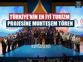 Türkiye'nin En İyi Turizm Projesine Muhteşem Tören