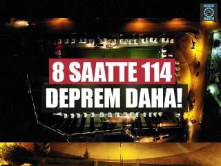 Denizli'de 8 saatte 114 deprem daha!