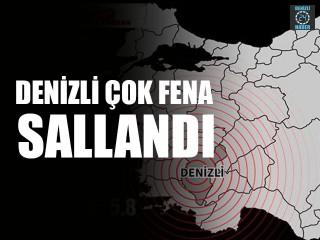 Denizli'de Deprem 6.5