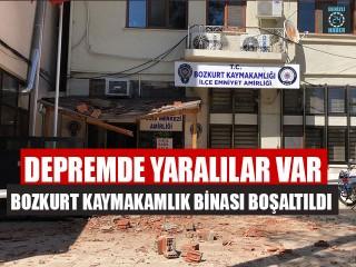 Depremde yaralılar var