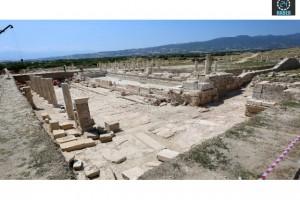 Tripolis'te 2200 yıllık çeşme bulundu