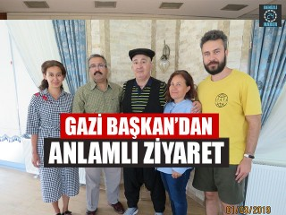 Gazi Başkan'dan Mevlüt Demir'e Anlamlı Ziyaret