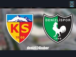 Kayserispor Denizlispor maçı ne zaman, saat kaçta, hangi kanalda?