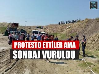 Protesto Ettiler Ama Sondaj Vuruldu