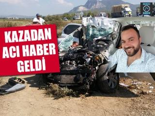 Sürücü Feci Kazada Hayatını Kaybetti