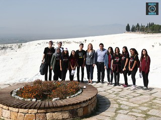 10 Sınıf Öğrencileri Pamukkale Ve Laodikya'yı Gezdi