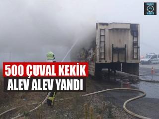 500 Çuval Kekik Alev Alev Yandı