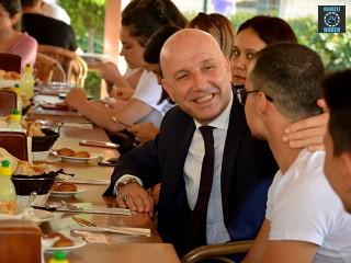 Başkan Özbaş, Öğrencilere Böyle Seslendi