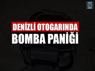 Denizli Otogarı'nda bomba paniği