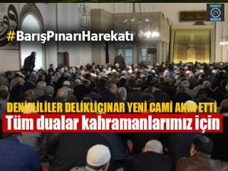 Denizli'de tüm dualar Suriye'deki Mehmetçik için