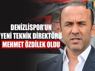 Denizlispor'un Yeni Teknik Direktörü Mehmet Özdilek Oldu