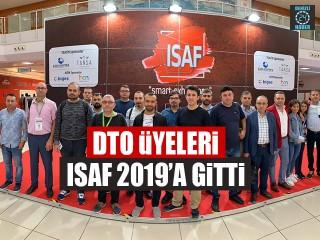 DTO Üyeleri ISAF 2019'A Gitti