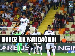 Yeni Malatyaspor - Denizlispor ilk yarı maç özeti