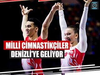 Milli Cimnastikçiler Denizli'ye Geliyor