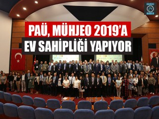 PAÜ, MÜHJEO 2019'a Ev Sahipliği Yapıyor