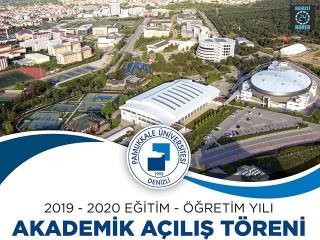 PAÜ'de2019-2020 Akademik Yılı Açılış Töreni Gerçekleştirilecek