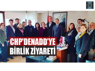 CHP'den ADD'ye Birlik Ziyareti