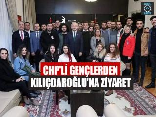 CHP'li Gençlerden Kılıçdaroğlu'na Ziyaret