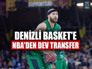 Denizli Basket'e NBA'den Dev Transfer