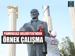 Pamukkale Belediyesi'nden Örnek Çalışma