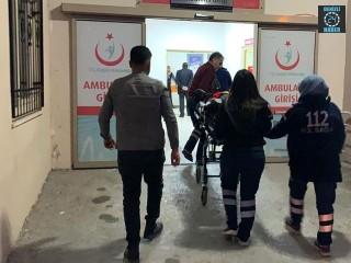 Adıyaman Kahta ilçesinde kaza Emrah Tan yaralandı