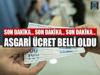 Asgari ücret belli oldu 2020 Asgari ücret zammında son dakika!