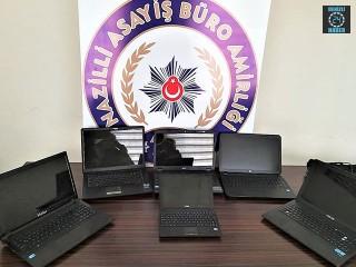 Aydın Nazilli'de okullarda hırsızlık yapan şahıs yakalandı